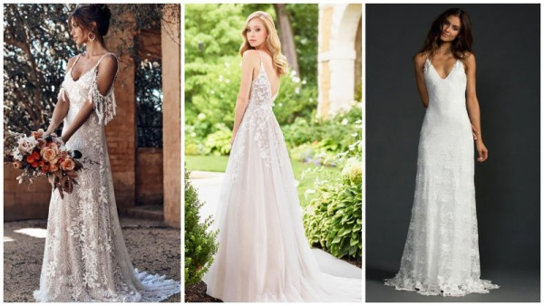 Casual-Lace-Wedding-Dresses