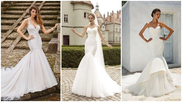 Trumpet Mermaid Wedding Dresses
