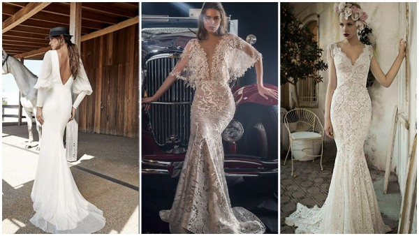 Vintage Mermaid Wedding Dresses