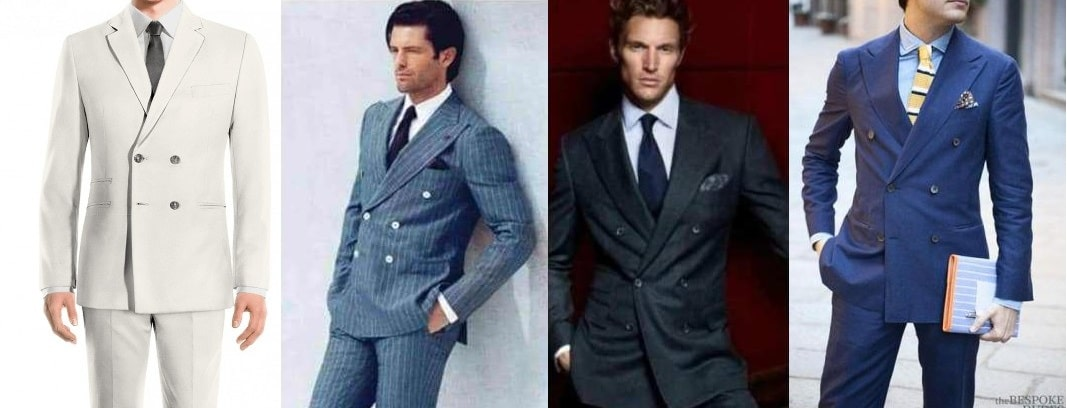 Double Breasted Suit Colors