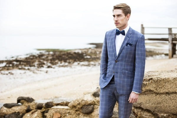 Blue Suit Formal Occasions