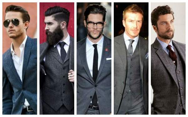 How To Wear A Gray Suit - CHARCOAL-GREY