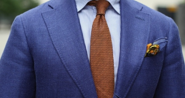 How to Wear Blue Suit
