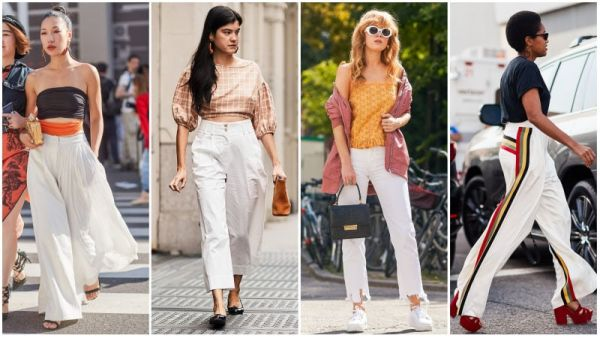 Summer White Pants Outfits