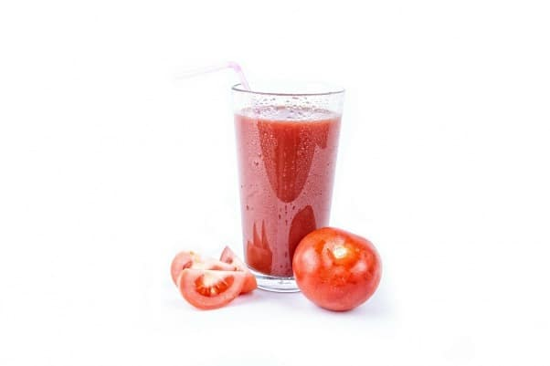 Tomato Juice for healthy skin