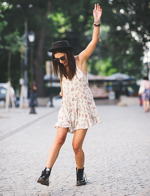 How To Wear Boots In Summer