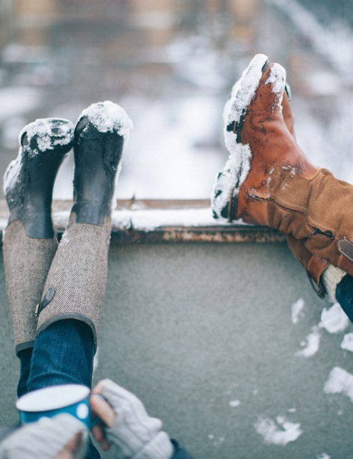 How To Wear Boots In Winter