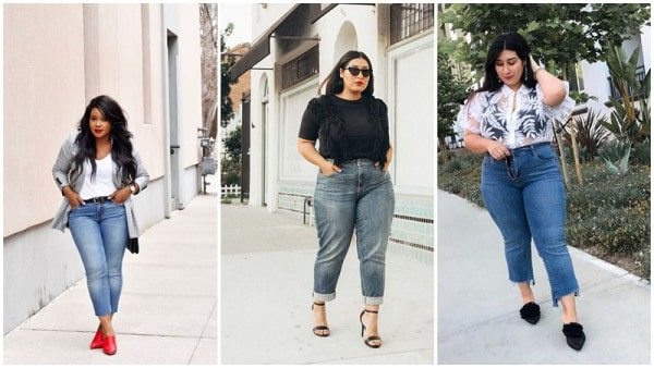 Plus Size Mom Jeans Outfits