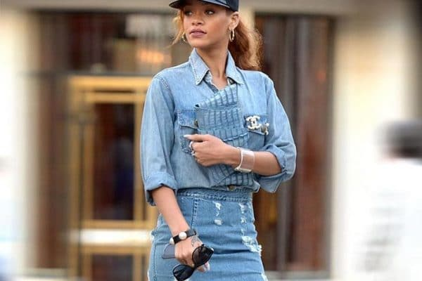 19 Cute Denim Shirt Outfit Ideas
