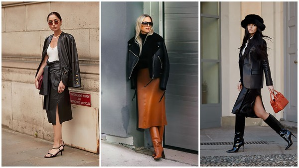 2. Leather on Leather