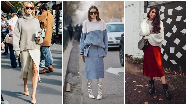 5. With Chunky Knit