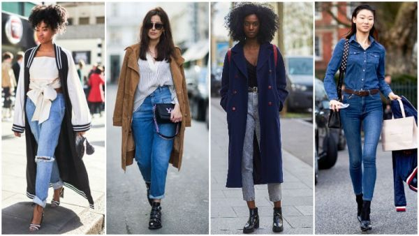 What to Wear with High-Waisted Jeans
