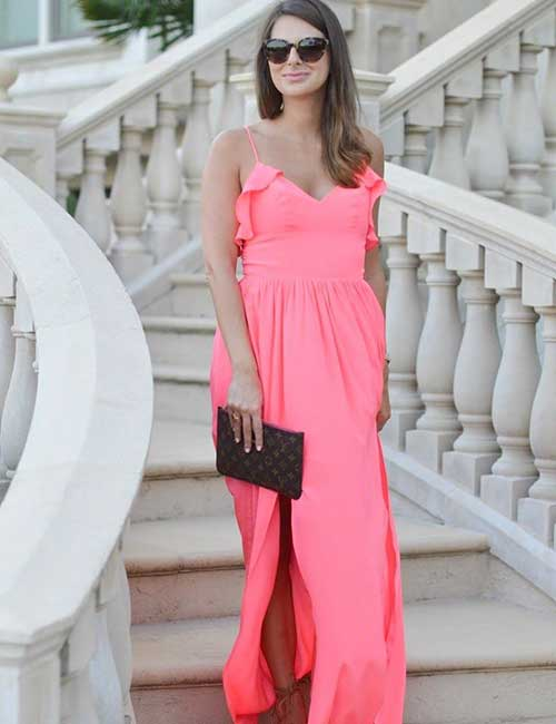 Maxi Dress For Fall Weddings