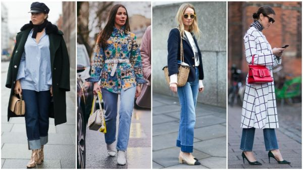 What to Wear with Straight Leg Jeans