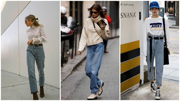80s Inspired Mom Jeans Outfits