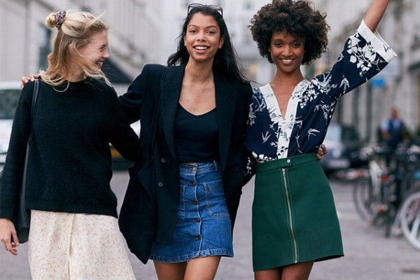 Denim Skirt Outfit Ideas From Street Style
