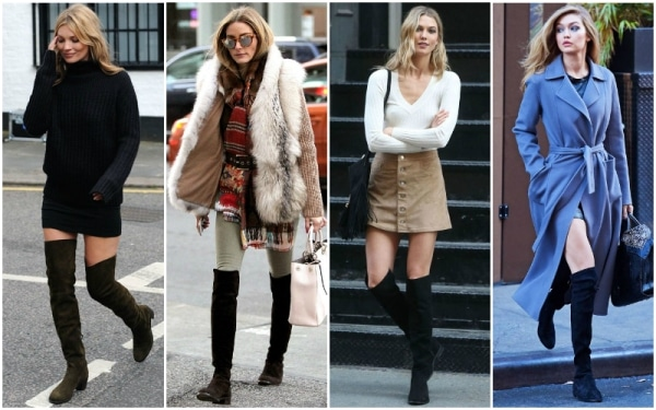 Flat-OTK-how to wear Over The Knee Boots