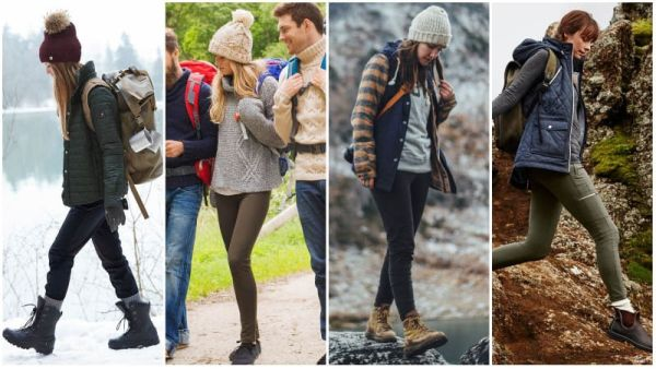 Winter Hiking Outfits