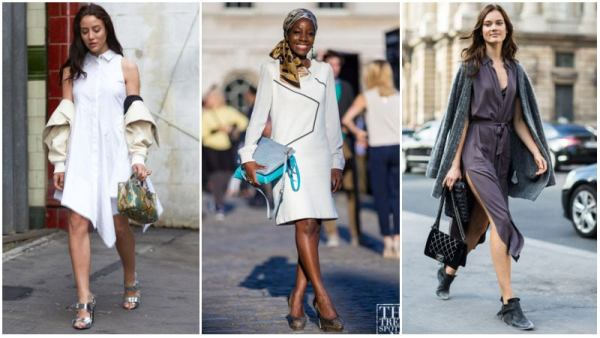 Day to Night Dress Casual Work Outfit Ideas