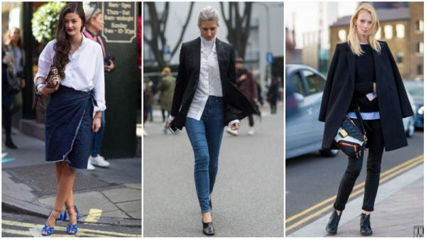 Dressed-Up Denim Casual Work Outfit Ideas