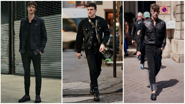All-Black Outfits Casual Men