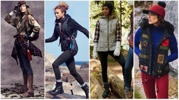 Layered Hiking Outfits