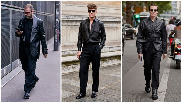All-Black Outfits Smart Casual Men