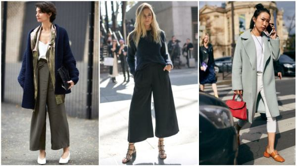 Cropped Pants and Tucked-In Top for the office