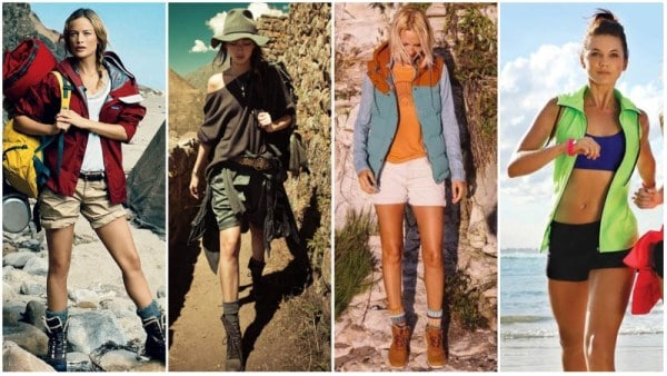 Hiking Outfits with Shorts