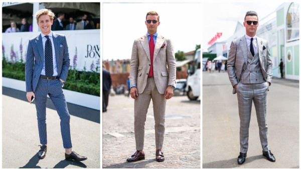 Monk Straps With a Suit