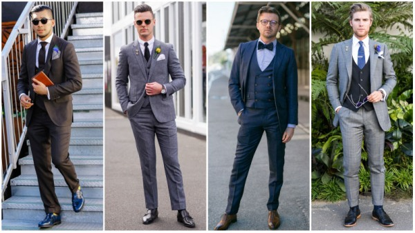 Three Piece Suit Dress Code - Formal