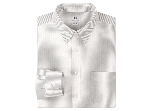 The Best Brands For Oxford Shirts - Uniqlo