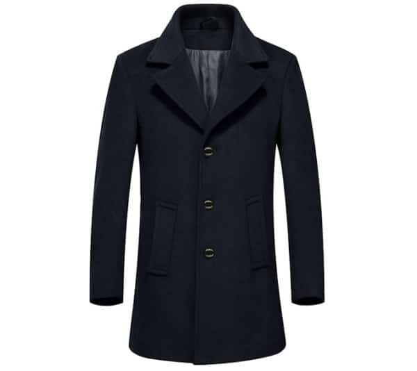 The Single-Breasted Peacoat
