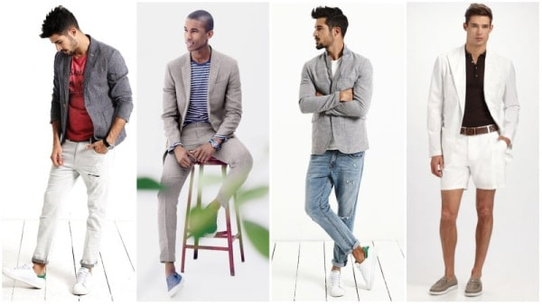 Men's Blazer Types - Linen