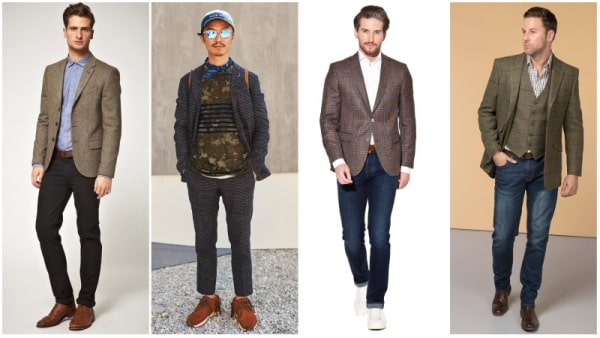 Men's Blazer Types - Tweed