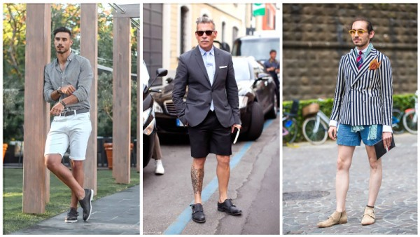 Monk Straps with Shorts
