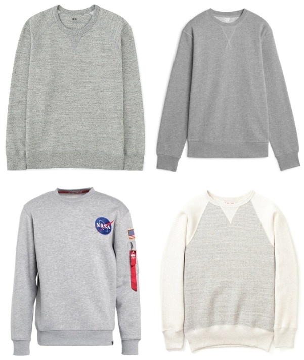 7 Sweatshirt Trends To Wear Today - Classic Grey Marl