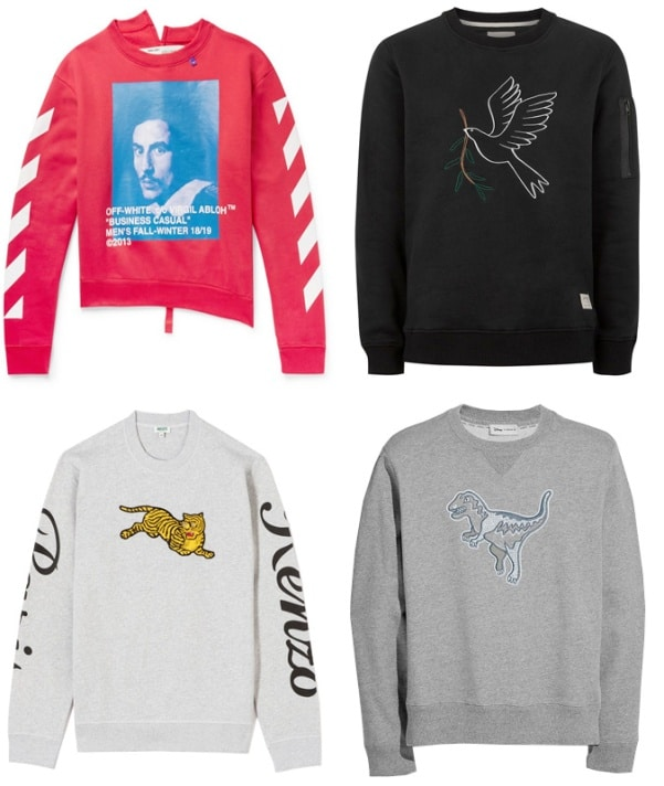7 Sweatshirt Trends To Wear Today - Motif & Embroidery