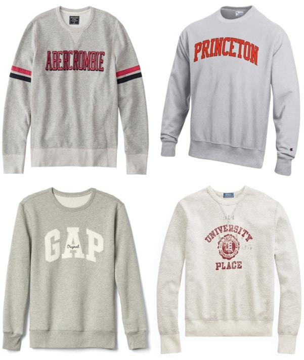 7 Sweatshirt Trends To Wear Today - Preppy