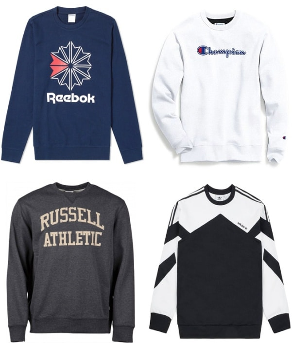 7 Sweatshirt Trends To Wear Today - Throwback Sportswear