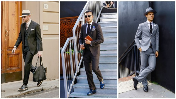 Monk Straps with Formal attire