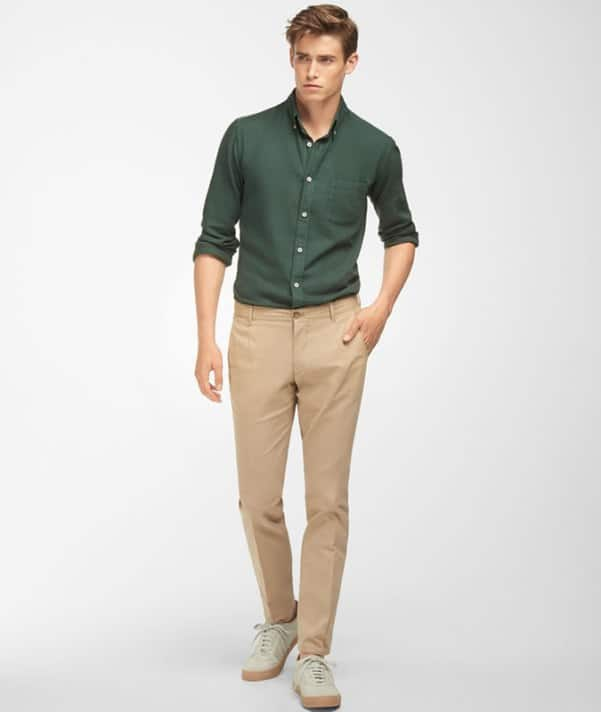 Oxford Shirt With Chinos