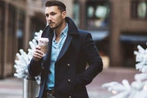 How To Wear A Pea Coat For A Stylish Winter Look