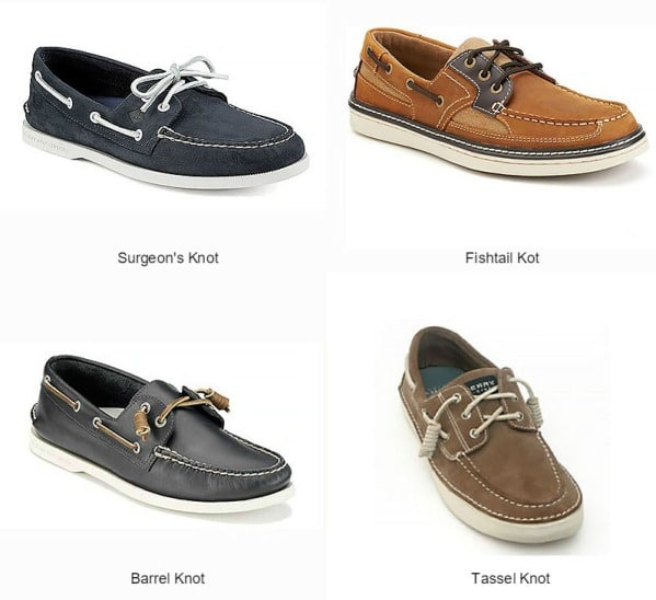 How to Tie Boat Shoe