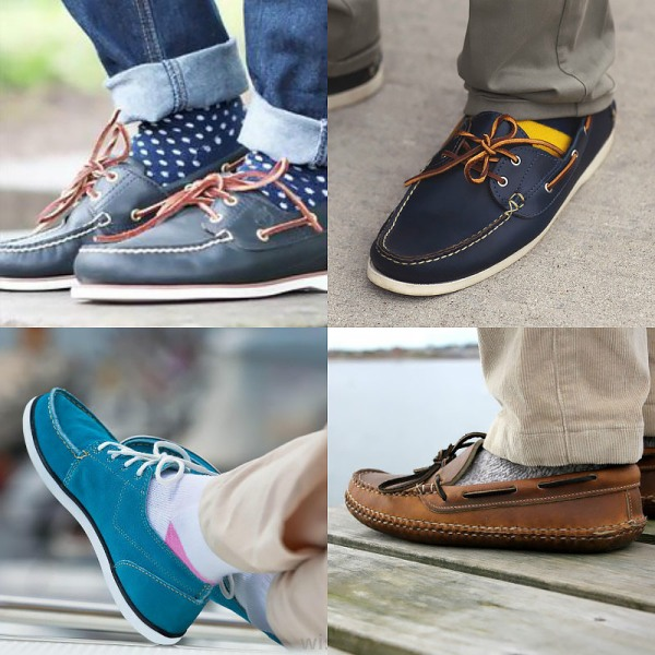 Wearing Socks with Boat Shoes