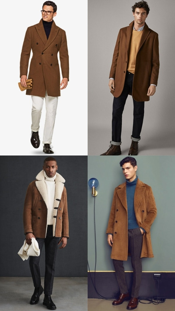 How To Wear Brown Coat