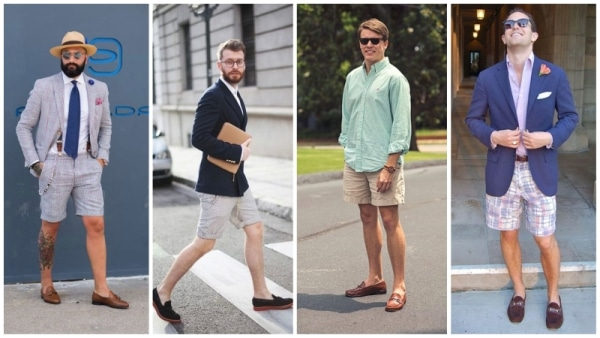 Shorts with Loafers