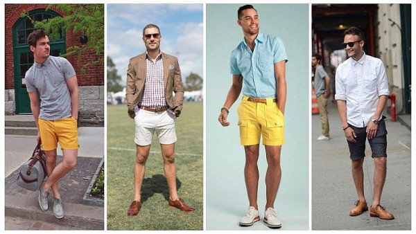Shorts with Brogues