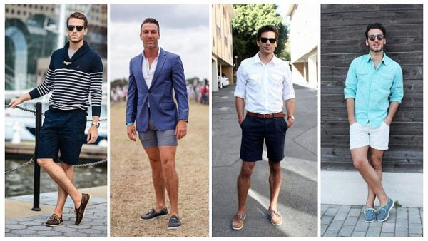 Shorts with Boat Shoes
