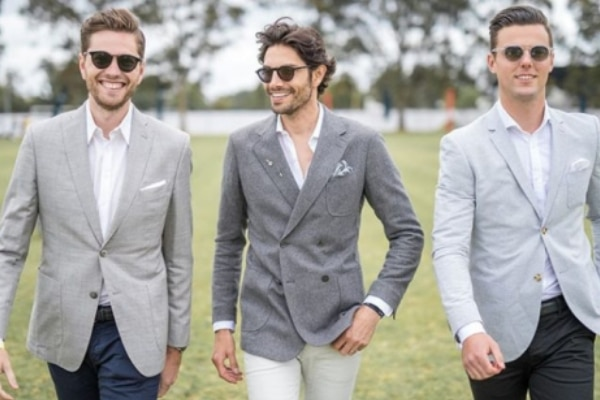 How To Wear A Grey Blazer
